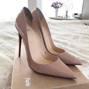 Christian Louboutin, 41 So Kate nude heels
